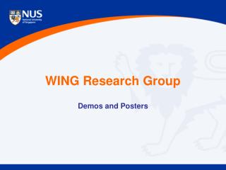 WING Research Group