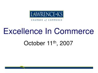 Excellence In Commerce