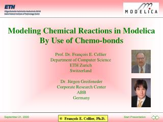 Modeling Chemical Reactions in Modelica By Use of Chemo-bonds