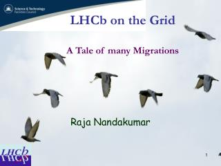 LHCb on the Grid A Tale of many Migrations