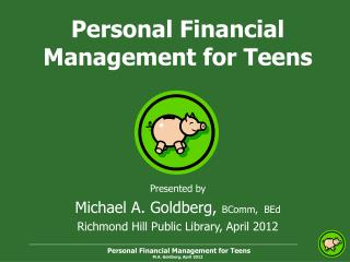 Personal Financial Management for Teens