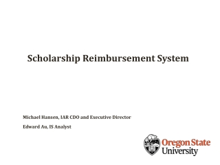 State Grants and Scholarships Department  Financial Aid Audit Process