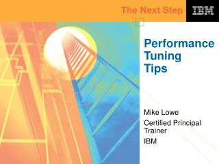 Performance Tuning Tips