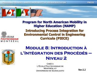 Program for North American Mobility in Higher Education (NAMP)