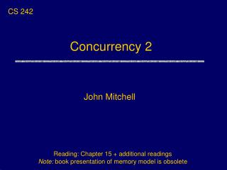 Concurrency 2