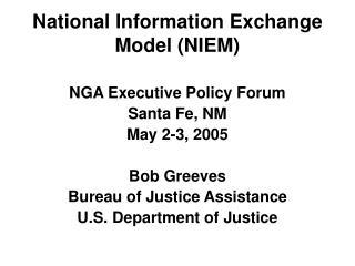 National Information Exchange Model (NIEM)