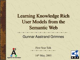 Learning Knowledge Rich User Models from the Semantic Web