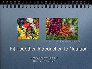 Fit Together- Introduction to Nutrition