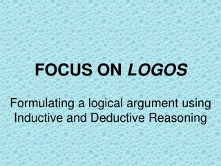 FOCUS ON  LOGOS