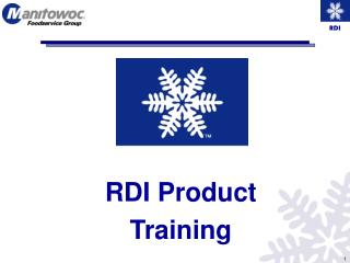 RDI Product Training