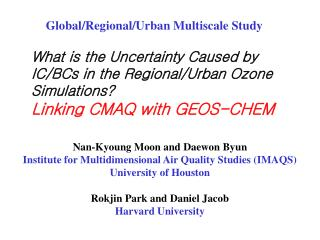 What is the Uncertainty Caused by IC/BCs in the Regional/Urban Ozone Simulations?