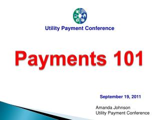Amanda Johnson Utility Payment Conference