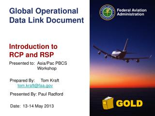 Global Operational Data Link Document