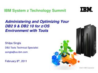 IBM System z Technology Summit
