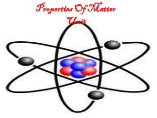 Properties Of Matter Unit
