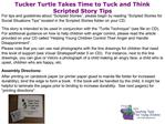 Tucker Turtle Takes Time to Tuck and Think Scripted Story Tips