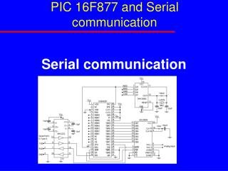 PIC 16F877 and Serial communication