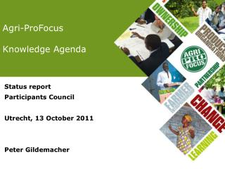 Agri-ProFocus  Knowledge Agenda