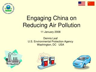 Engaging China on Reducing Air Pollution