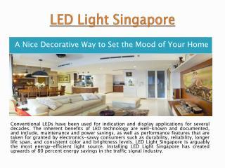 LED Lighting Singapore
