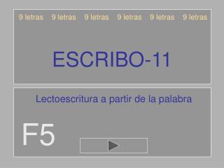 ESCRIBO-11