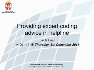 Providing expert coding advice in helpline