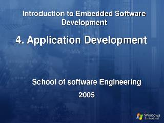 Introduction to Embedded Software Development