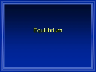 Experiment 4 Determination of an Equilibrium Constant