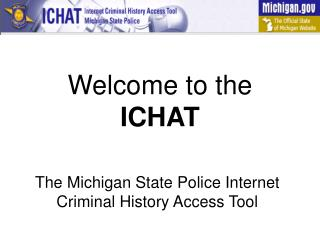 Welcome to the ICHAT