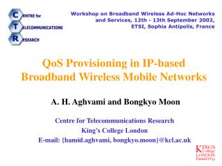 QoS Provisioning in IP-based Broadband Wireless Mobile Networks