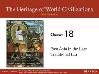 East Asia in the Late Traditional Era