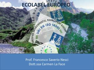 ECOLABEL EUROPEO