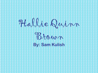 Hallie Quinn Brown