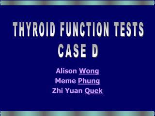 Alison Wong Meme Phung Zhi Yuan Quek