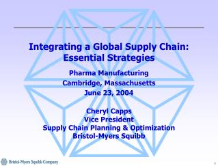 Integrating a Global Supply Chain: Essential Strategies