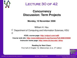 Lecture 30 of 42