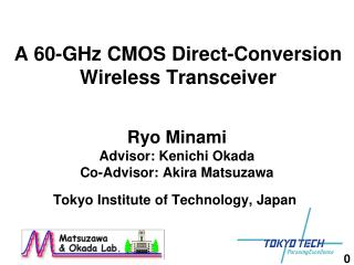 A 60-GHz CMOS Direct-Conversion Wireless Transceiver