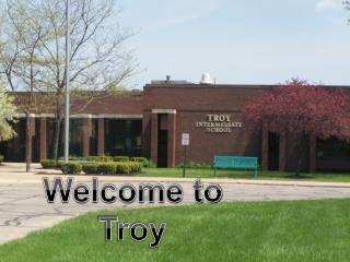 Welcome to Troy