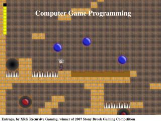 CSE 380 – Computer Game Programming Introduction