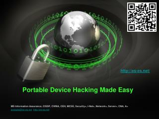 Portable Device Hacking Made Easy