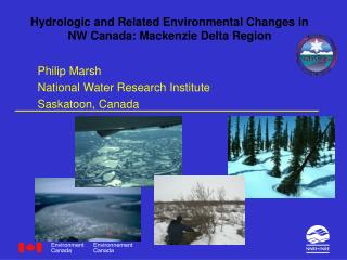 Hydrologic and Related Environmental Changes in NW Canada: Mackenzie Delta Region