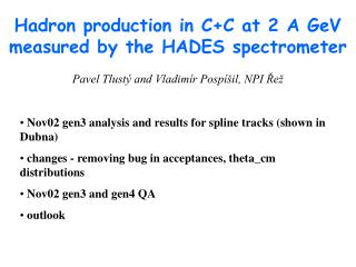 Hadron production in C+C at 2 A GeV measured by the HADES spectrometer