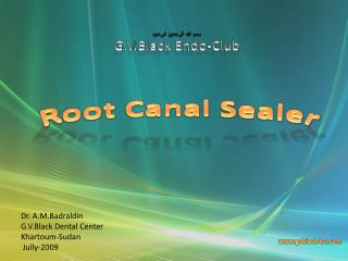 Root  Canal  Sealer