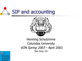 SIP and accounting
