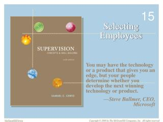 Selecting Employees