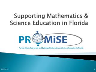 Supporting Mathematics & Science Education in Florida