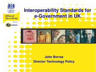 John Borras Director Technology Policy