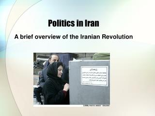 Politics in Iran