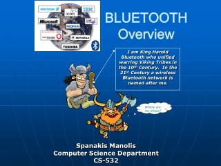 BLUETOOTH Overview