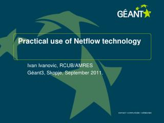 Practical use of Netflow technology